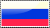 Flag of Russia Stamp by xxstamps