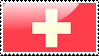 Flag of Switzerland Stamp by xxstamps