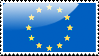 Flag of European Union Stamp by xxstamps