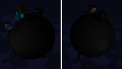 (Scarp) Steve inflated Enderman by AolesSportKennySouth