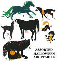 Halloween Adopties by orengel