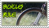 Bikes Rule - stamp by GoldeenHerself