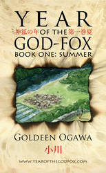 Year of the God-Fox Book 1 Cover by GoldeenHerself