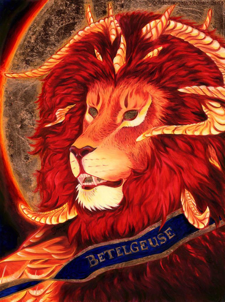Betelgeuse by GoldeenHerself