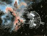 Star Walker's First Steps by GoldeenHerself
