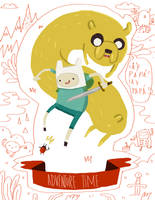 Adventure time by yuels