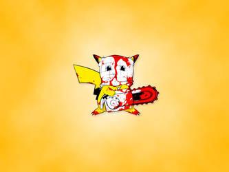 Pikachu = The Killer! by MayteKr