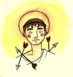 st.Sebastian by Shpout