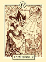 YGO Tarot: The Emperor by MooguriKlaine