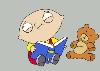 Stewie and Rupert by LiquidVortex