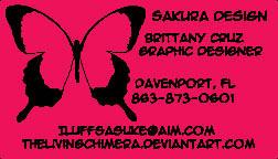 Sakura Card by BrittanysDesigns