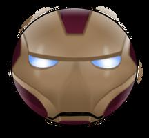 Iron Man Pin by BrittanysDesigns