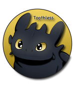 Toothless Pin by BrittanysDesigns