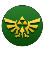 Triforce Pin by BrittanysDesigns