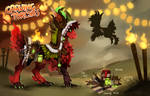Aluri - Carving Torches  | Auction | OPEN by Fyurama
