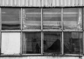 Windows of the Ghost City XIII by Saffella