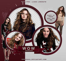 PNG PACK #006 - LIANA LIBERATO by WOWResources
