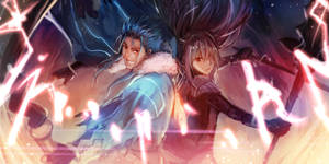 Scathach and Cu Chulainn by CocopiE