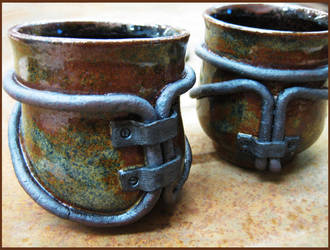 Industrial Tea Cups by CreativelyStrange