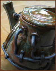 Industrial Teapot (detail) by CreativelyStrange