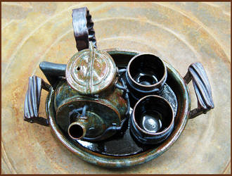 Industrial Tea Set by CreativelyStrange