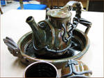 Industrial Tea Set 1 by CreativelyStrange