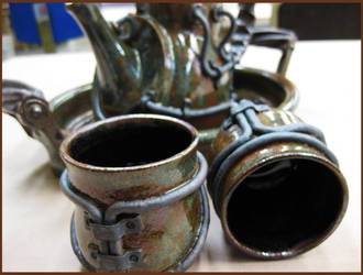 Industrial Tea Set 2 by CreativelyStrange