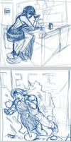 15 Minute Sketch Practice by otakutaylor