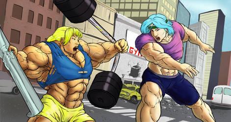 Tsumi vs Kira by otakutaylor