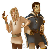 Baldr and Tyr by crf450r9