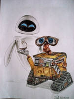 Wall-E by ArtWarrior25