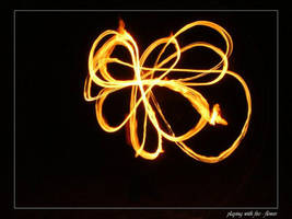 playing with fire - flower by sh4dow