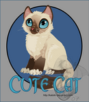 Vector: Cute Ragdoll Cat by Katolin