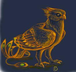 Glowing Phoenix by Katolin