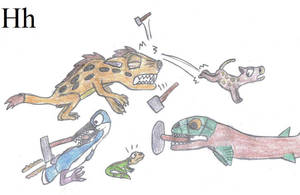 Prehistoric Alphabet - H by Crash-the-Megaraptor