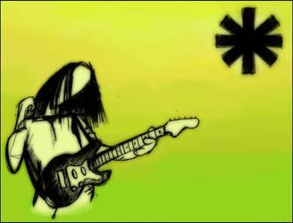 John Frusciante.. by Dis-Harmony