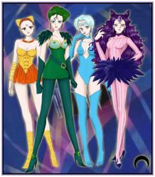 Ayakashi Sisters by Dark-elfa