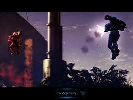 Halo 3: Jump Battle by MastaHicks