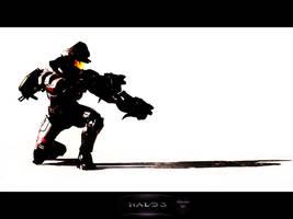 Halo 3: Mauler Artwork by MastaHicks
