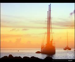 'Sunshine boat' by MastaHicks