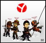 Yatta Team - Rainbow 6 by MastaHicks
