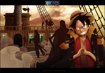 Luffy Lord of Pirates by MastaHicks