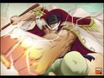 One Piece - Barbe Blanche (Whitebeard) by MastaHicks