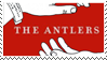 The Antlers | Hospice Stamp by eldritchrach