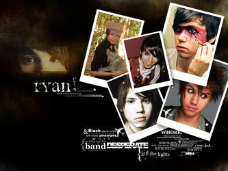 Ryan Ross Wallpaper by eldritchrach