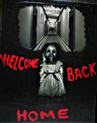 Welcome Back Home - Painting by IntuitiveMoth