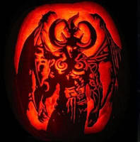 Devil Pumpkin by XxSphenxX