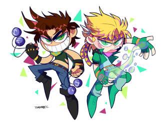 Hamon Duo by Stuppid-Bunny