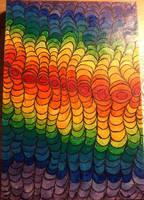 psychedelic rainbow by VikKill