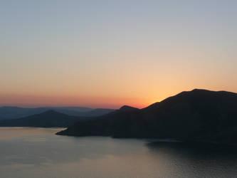 sunset in Crimea by VikKill